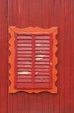 Ventana de madera vieja Fotos de archivo libres de regalías