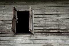 Ventana de madera vieja Imagenes de archivo