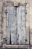 Ventana de madera vieja Fotografía de archivo libre de regalías