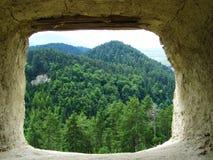 Ventana de piedra Imagen de archivo libre de regalías