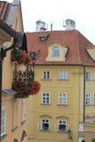 Ventana de Praga Foto de archivo libre de regalías