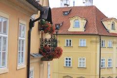 Ventana de Praga Fotografía de archivo