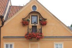Ventana de Praga Imagen de archivo