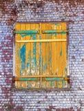 Ventana de una casa vieja Fotografía de archivo