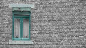 Ventana de una casa vieja en rochefort foto de archivo libre de regalías