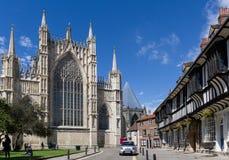 Ventana del este de la iglesia de monasterio de York gran fotos de archivo libres de regalías