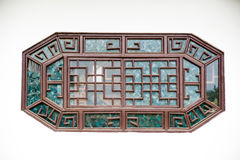 Ventana del estilo chino Foto de archivo