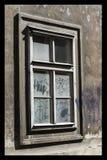 Ventana del ghetto Fotos de archivo libres de regalías