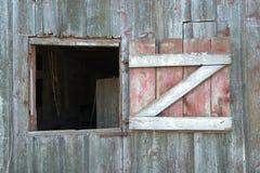 Ventana del granero Imagenes de archivo