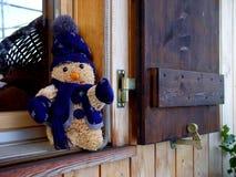 Ventana del invierno Fotografía de archivo libre de regalías