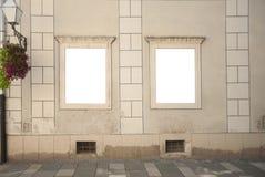 Ventana del marco de la calle imágenes de archivo libres de regalías