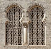 Ventana del Moorish Fotos de archivo