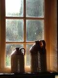 Ventana del Pub Foto de archivo libre de regalías