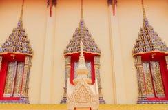 Ventana del templo Fotografía de archivo libre de regalías