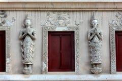 Ventana, ventana del templo Imágenes de archivo libres de regalías