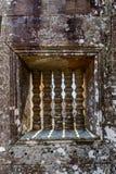 Ventana del templo de Preah Vihear Fotografía de archivo