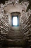 Ventana en castillo Fotografía de archivo