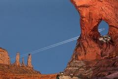 Ventana en el cielo Fotografía de archivo