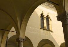 Ventana en el estilo veneciano Foto de archivo libre de regalías