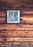 Ventana en el marco cuadrado - fondo Fotografía de archivo