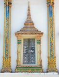 Ventana en el templo Fotos de archivo libres de regalías