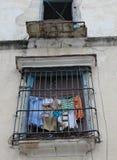 Ventana en La Habana Fotos de archivo libres de regalías