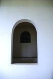 ventana en la pared del templo Imagen de archivo