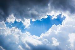 Ventana en los cielos Imagen de archivo
