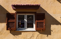 Ventana en Rodas Stock Photography