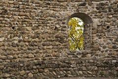Ventana en una pared Imagenes de archivo