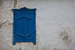Ventana en una pared vieja Fotografía de archivo