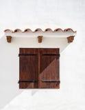 Ventana española Fotografía de archivo