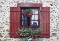 Ventana francesa Imagen de archivo