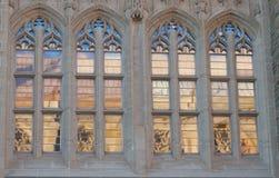 Ventana gótica Imagenes de archivo