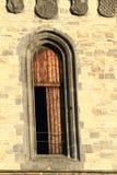 Ventana gótica Fotografía de archivo