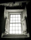 Ventana, granero redondo de la coctelera Imagen de archivo libre de regalías