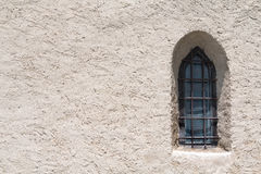 Ventana gótica Fotografía de archivo libre de regalías