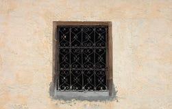 ventana hermosa en Marruecos fotos de archivo