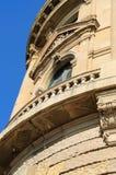 Ventana histórica del edificio Imágenes de archivo libres de regalías