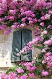 Ventana italiana Fotografía de archivo libre de regalías