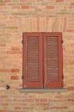 ventana italiana Imágenes de archivo libres de regalías