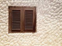 Ventana ligera de la pared Fotografía de archivo libre de regalías