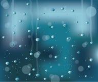Ventana lluviosa Imagenes de archivo
