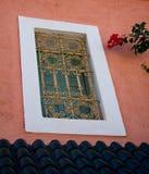 Ventana marroquí imagen de archivo libre de regalías