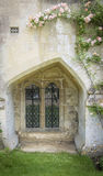Ventana medieval Foto de archivo