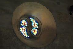 Ventana medieval Foto de archivo libre de regalías