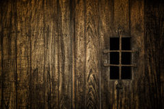 Ventana medieval prohibida Fotografía de archivo libre de regalías