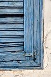 Ventana mediterránea Foto de archivo libre de regalías