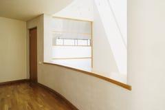 Ventana moderna del balcón Fotos de archivo libres de regalías