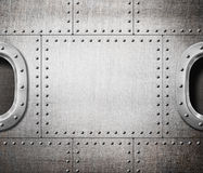 Ventana o submarino de la nave a bordo del punky del vapor Fotos de archivo libres de regalías
